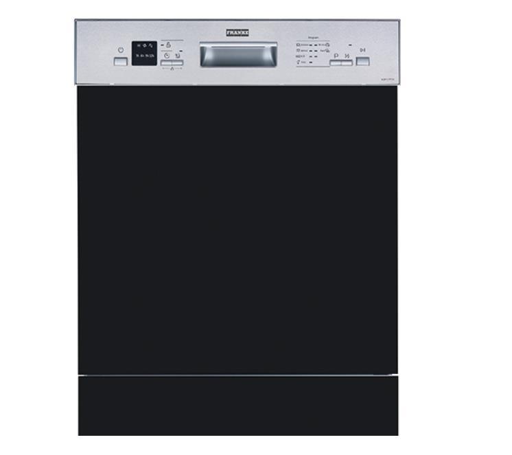 Franke - Bulaşık Makinesi FDWS 712 A++ Yarı Ankastre Nero