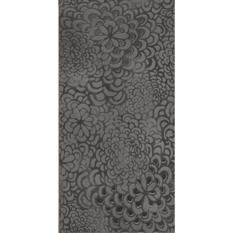 30x60 Bloom Antrasit Dekor Mat