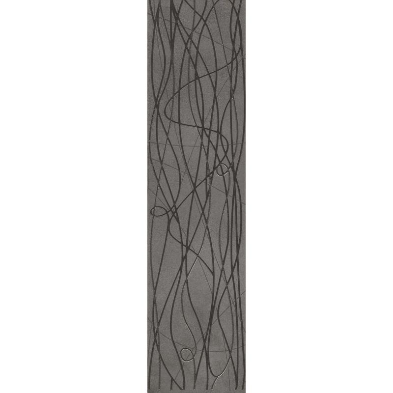 15x60 Bloom Antrasit Bordür Parlak