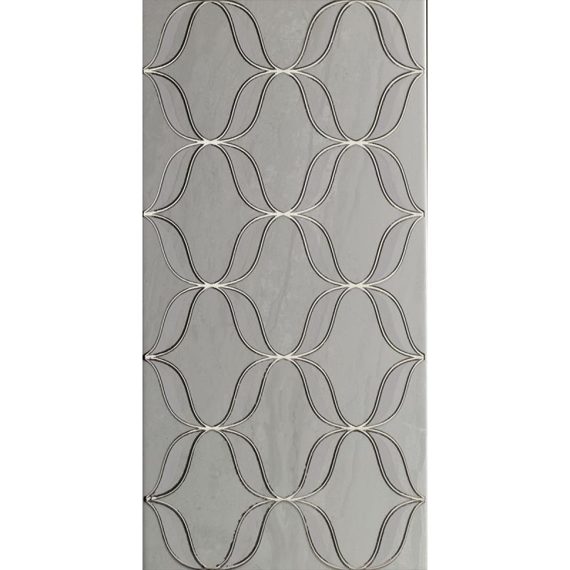 3x70 Metal Bordür Gümüş Bordür Parlak