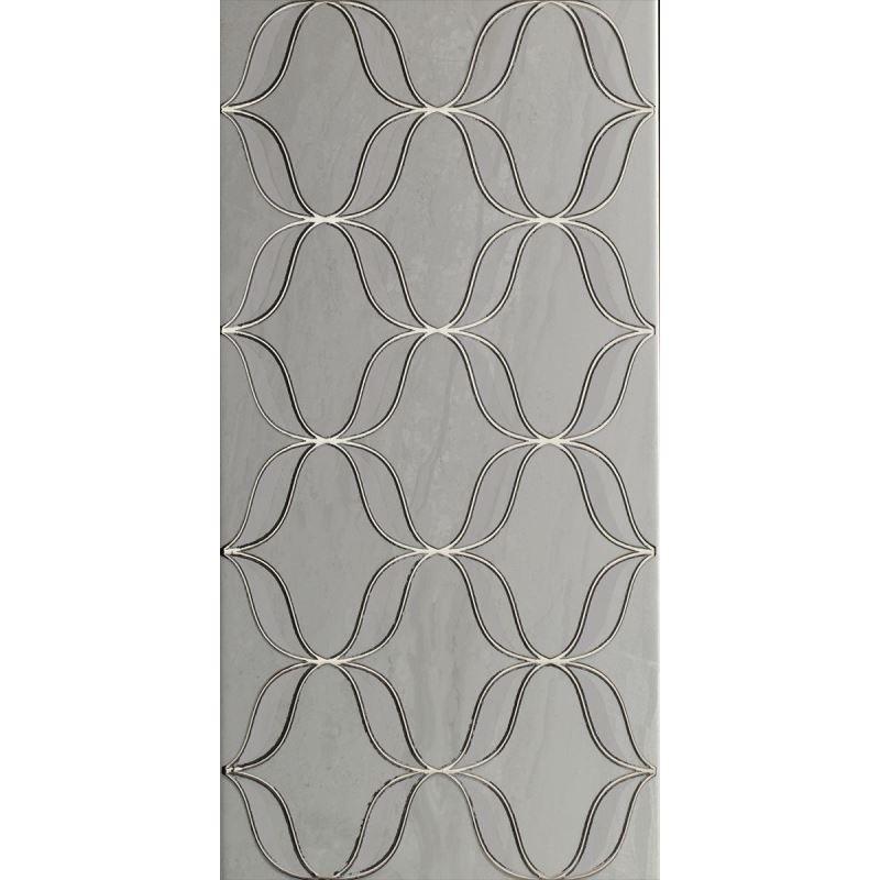 3x70 Metal Bordür Gümüş Bordür Mat