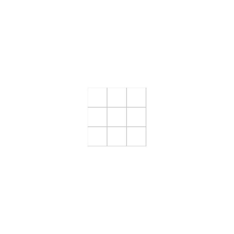 10x10 Pro Color RAL 9016 Beyaz Mozaik Parlak