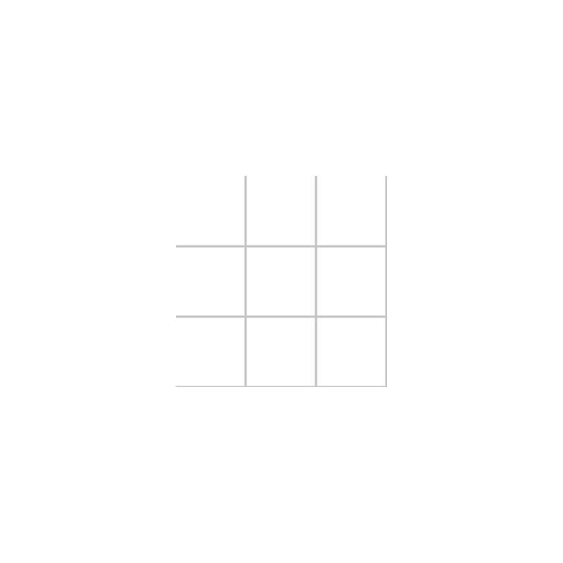 10x10 Miniworx RAL 9016 Beyaz Mozaik Parlak