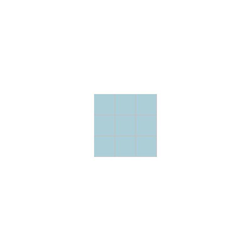 10x10 Pro Color RAL 2307015 Havuz Mavisi Mozaik Parlak