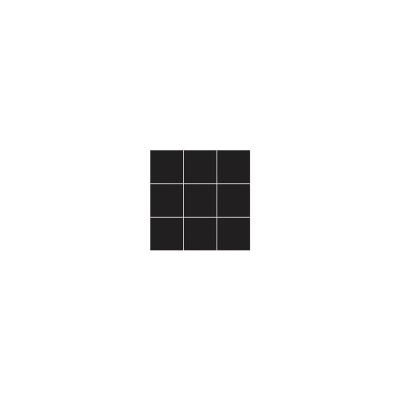 10x10 Pro Color RAL 0001500 Siyah Mozaik Parlak