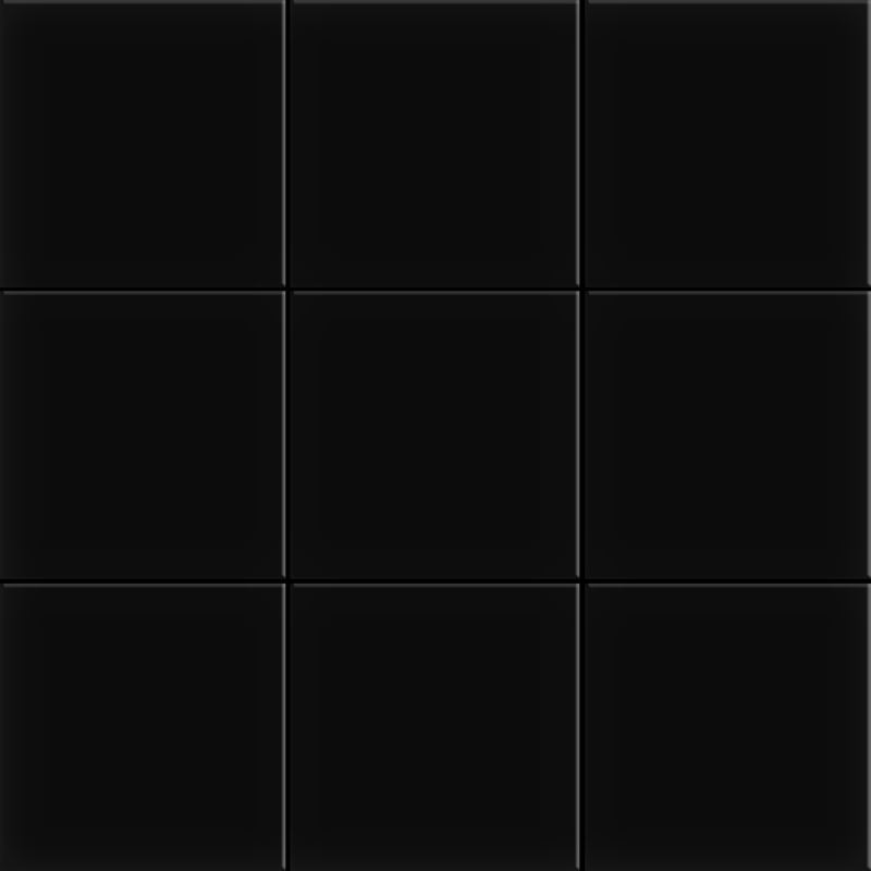10x10 Miniworx RAL 0001500 Siyah Mozaik Mat