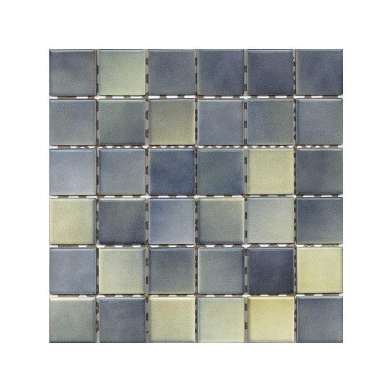 5x5 Colorline Yeşil Mavi Mozaik Parlak