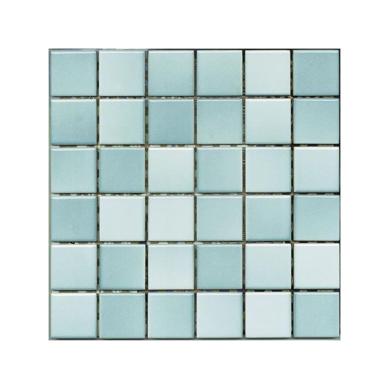 5x5 Colorline Havuz Mavi Mozaik Parlak