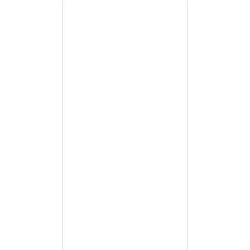 30x60 Düz Renkler Beyaz Fon Mat