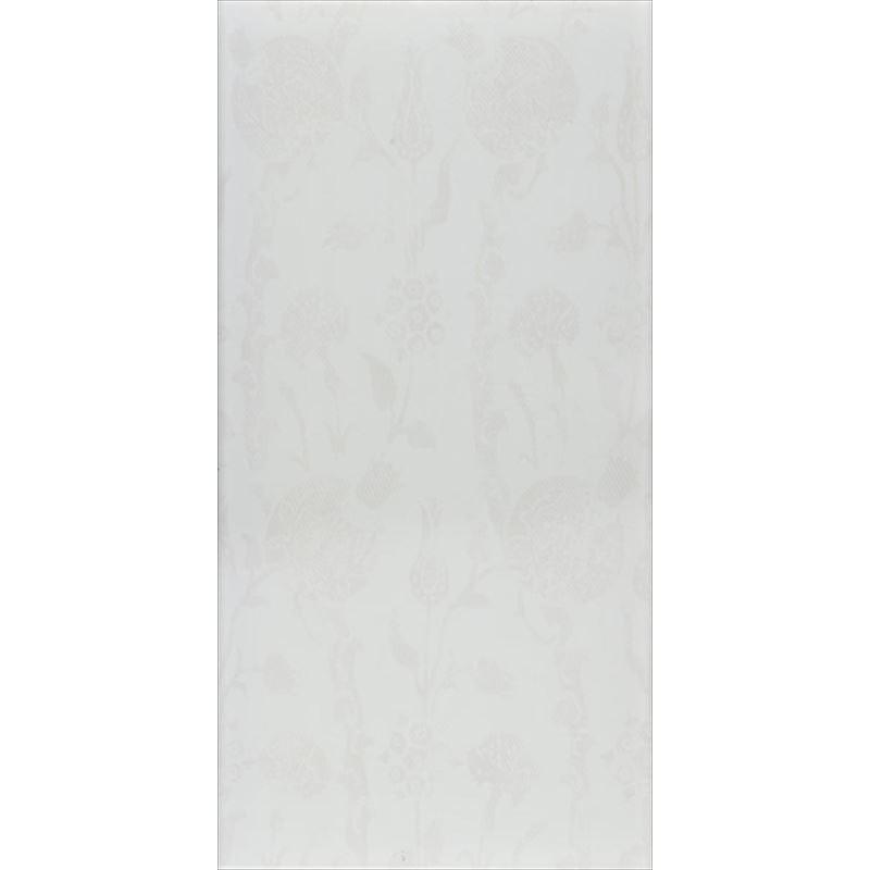 30x60 Düz Renkler Beyaz Fon Parlak