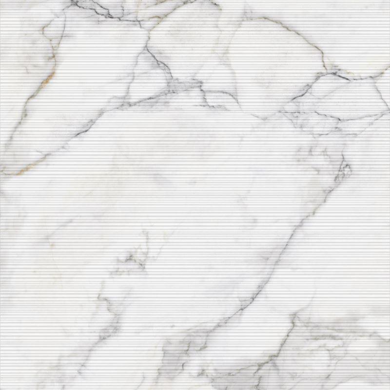 80x80 Calacatta Beyaz Dekor Mat